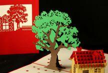 3D Pop-Up Karten - Der Frühling kann kommen!    / Filigrane Grußkarten mit Fahrrad-, Blumen-, Natur-, und Landschaftmotiven. Jetzt wieder im Online-Shop unter wwww.colognecards.de erhältlich.