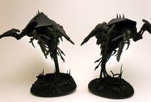 Fantasy miniatures kitbashing