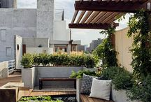 ROOFTOP GARDENS + SWIMMING POOLS