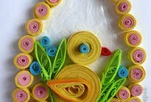 velikonoce quilling