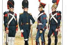 French Napoleonic period Guard lnfantry regiments