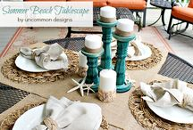 Table setting decor / by Abby Bishop