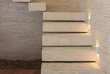 Escadas / Decoração sala
