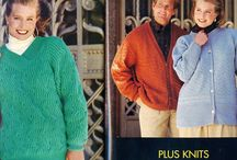 Patterns for Knit, Crochet etc