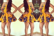 Ankara Dresses / All About the latest ankara style and dresses