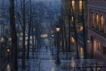 Eugene Lushpin / Artist Evgeny Lushpin (Eugene Lushpin) was born in Moscow in 1966. Trained in the art of painting MGHPU them. G.S.Stroganova, Faculty of Art and Design and construction of the Moscow State Institute of Education correspondence, graphic arts department.
