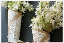 Crafty | Doilies / by Tammy @ Not Just Paper and Glue
