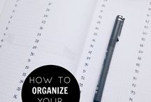 LIFE PLANNING / All about how to get your life more organized