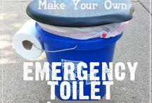 Emergency Toilet