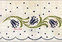 cross stitch - line pattern