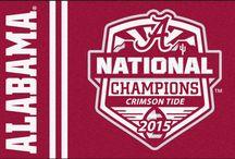 Crimson Tide 2015 Champs!!! / Great officially licensed commemorative stuff celebrating the Alabama Crimson Tide 2015 National Football Championship!