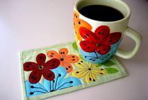 a Mug rug