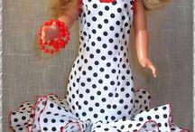 trajes de flamencas de muñecas