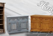 Furniture collections / Wood furniture collections.