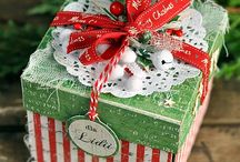 Exploding Box Ideas ~ Christmas