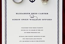 Nautical Wedding Inspiration  / by Cards & Pockets