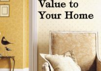 Add value to my home
