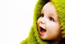 赤ちゃんアップ写真
