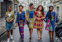 My African print dresses
