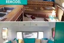 Homes on wheels / Glamping, RVs, wee homes, and restoring/remodeling of same.