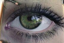 Oko kresba