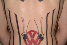 VW beetle bug tattoo