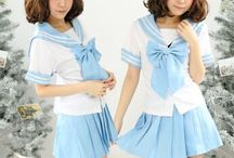 """two - piece / Use coupon code """"cutekawaii"""" for 10% off at https://www.sanrense.com/"""