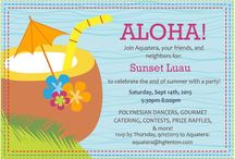 Aquatera Events / Feel free to get party ideas from us:)
