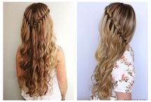 trenzas con cabello suelto