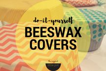 Fabric bees wax covers