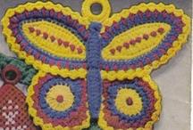 Crochet - Appliques / by Becky Hebert