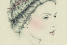 Arte belleza / Damas fantasia