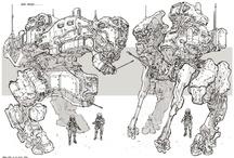 Mechas & Robot Concepts