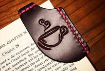 4 leather bookmark