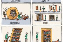 Books and The Love of Reading / For all those book and reading related items that we don't want to forget about.
