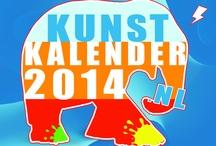 Kunst Kalender 2014