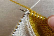 Knitting crochet tips