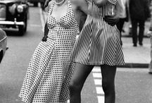 VINTAGE FASHION / Showcasing images of fashion from past eras. Pinning images of styles from the past and the most beautiful vintage clothing. Styles from some of the most fashionable eras of the past and inspiration for current trends.