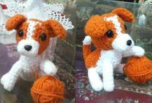 dogs crochet