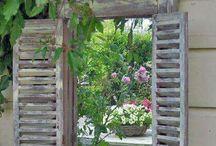 Alte Fenster Türen Steine