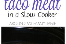 Food-Slow Cooker / Slow Cooker recipes