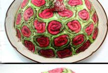 renkli kek