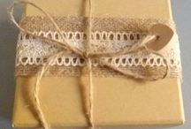 Gift box / Jewelry boxes DIY