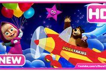 Lagu Anak Indonesia Populer / Video lagu anak - anak indonesia populer yang dikemas ulang dengan kartun lucu seperti Masha and The Bear, Upin Ipin, Dora The Explore dan masih banyak lagi kartun lainnya.