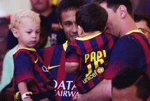 Neymar Jr , Lionel i Davi Lucca