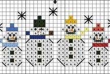 free winter-themed cross stitch patterns