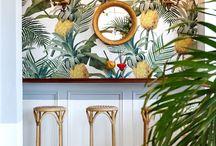 Tropical design interior