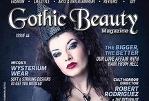 Gothic Beauty magazine / Inspiring magazine, Gothic Beauty