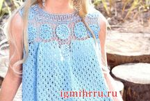 bluse sprone crochet