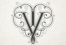 Monograms Typography